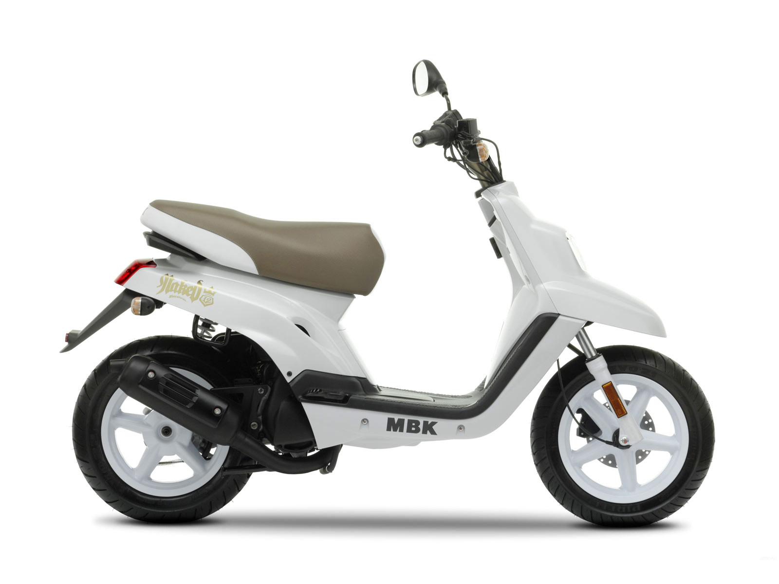 2009 Mbk Booster 12inch Naked Scooter Pictures Specifications