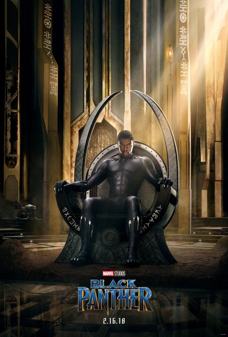 Marvel Black Panther poster