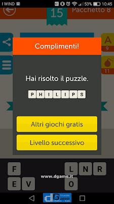 Mega Quiz soluzione pacchetto 8 livelli 15-60