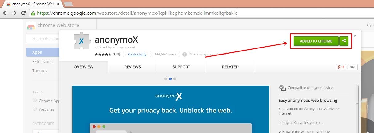 Add On Chrome Untuk Membuka Situs Yang Diblokir