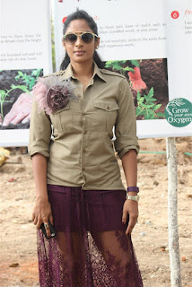 Sriya Reddy Pictures at the Osian chlorophyll�s Grow Your Own Oxygen Campaign ~ Celebs Next