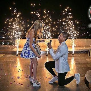 Alan Pulido Le Pide Matrimonio A Su Novia Ileana Salas