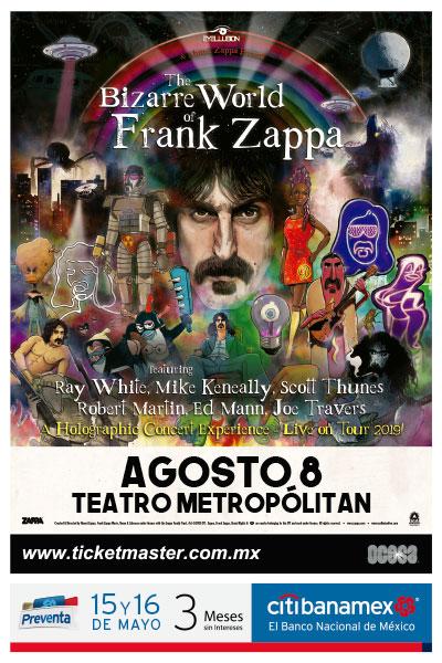 Frank Zappa en CDMX