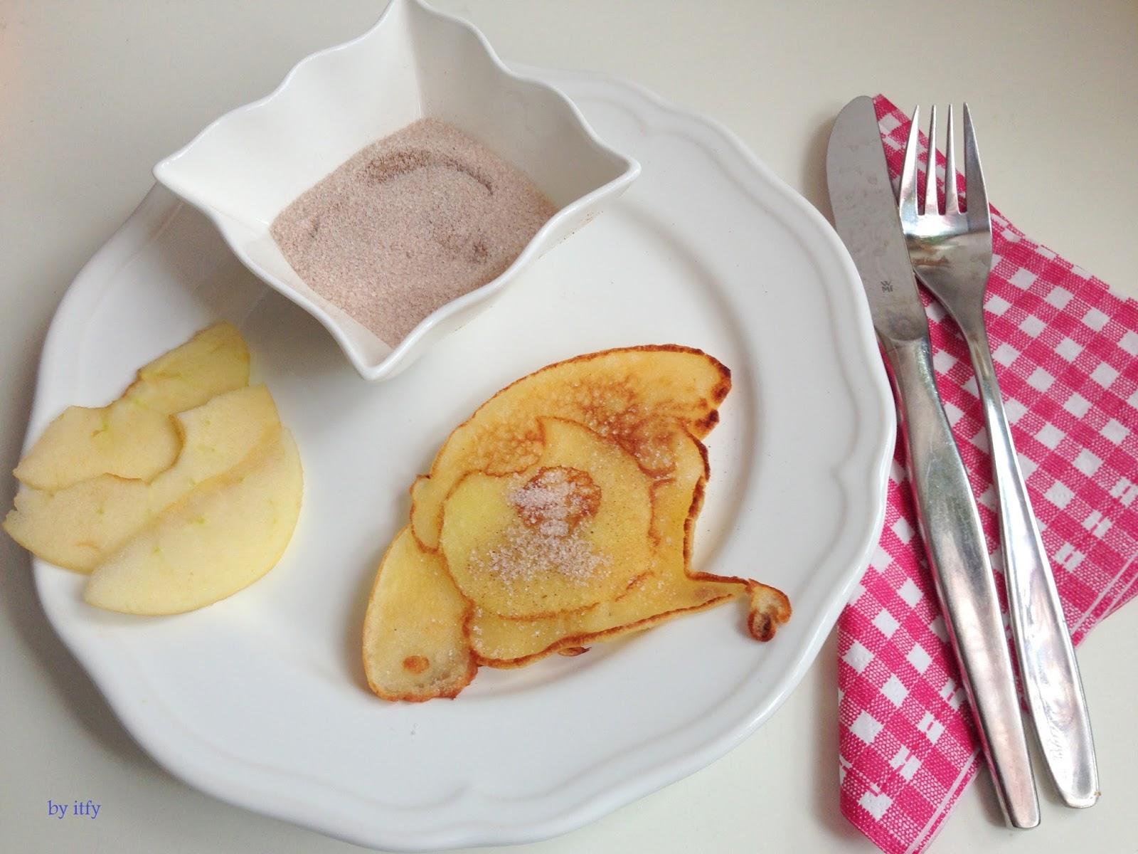 I TEST FOR YOU Schnelle Küche Mini Apfel Pfannküchlein