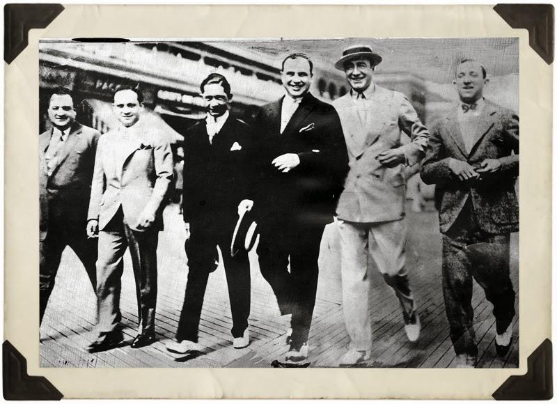 Nucky Johnson y Al Capone en Atlantic City
