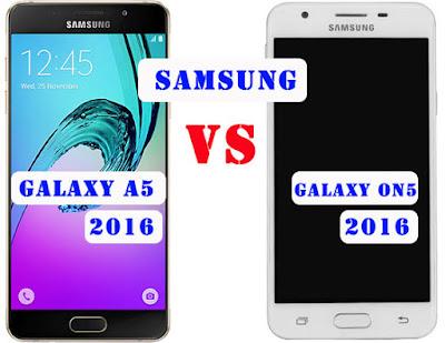 Perbedaan Samsung A5 2016 VS On5 2016