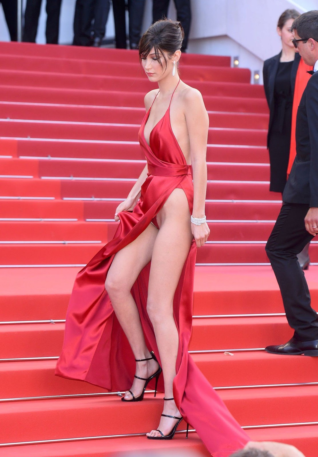 Bella Hadid wears the sexiest gown ever at Cannes Film Festival