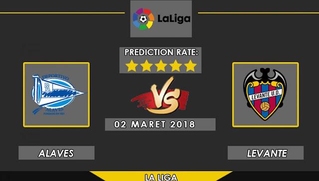 Prediksi Skor Alaves vs Levante 2 maret 2018 ~ PREDIKSI GOALL