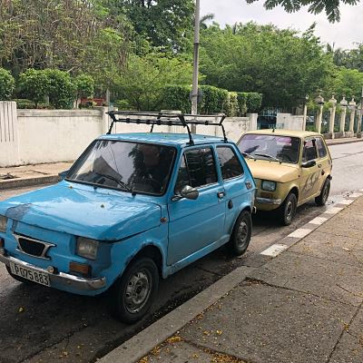 Coches en La Habana.