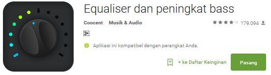 Cara Meningkatkan Kualitas MP3 di Android