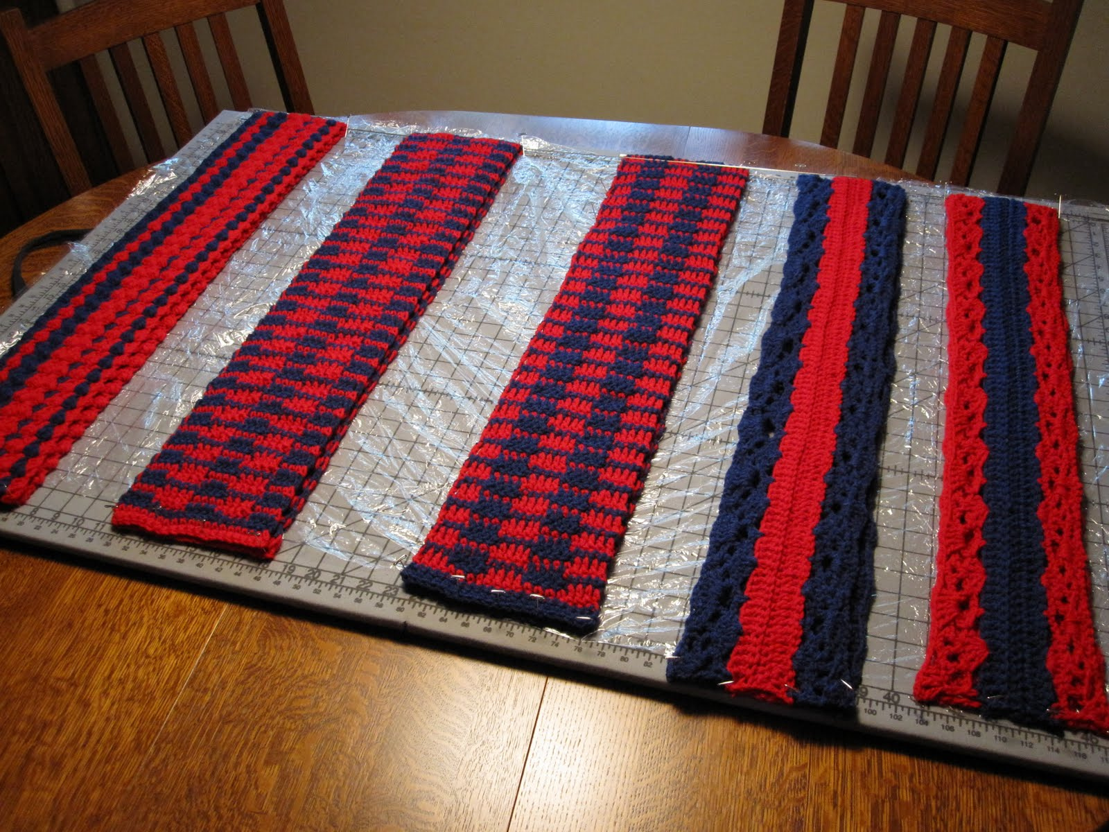 Three Rivers Crochet: Special Olympics Scarves 2012