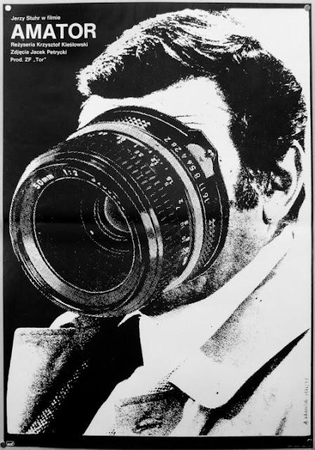 Camera Buff, Movie Poster, Krzysztof Kieslowski