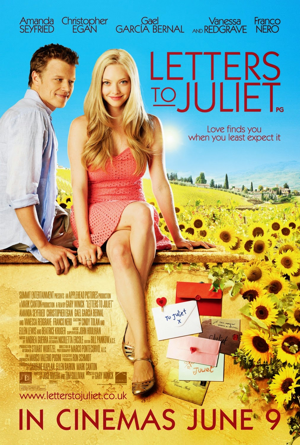Letters to Juliet (2010) ταινιες online seires oipeirates greek subs