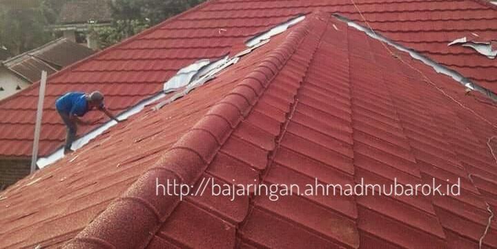 menghitung kebutuhan baja ringan untuk atap cara rumah