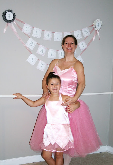 little girls ballerina birthday party