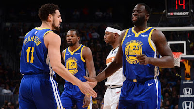 Golden State Warriors - Klay Thompson - Draymond Green - Kevin Durant
