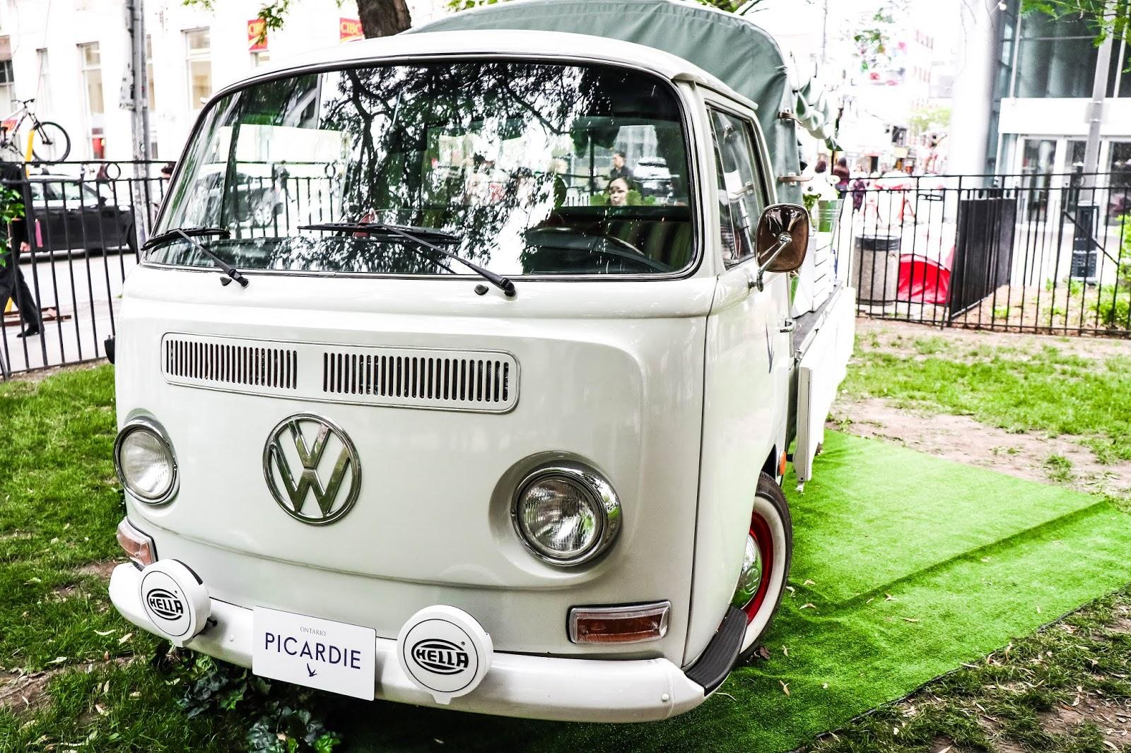 the delicate flower volkswagen truck toronto