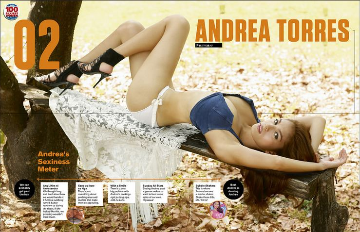 Andrea Torres FHM 2015 Sexiest