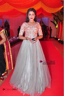 Actress Madhu Shalini Exclusive Stills in Party Dress at Vijay Karan Aashna Wedding  0049.JPG