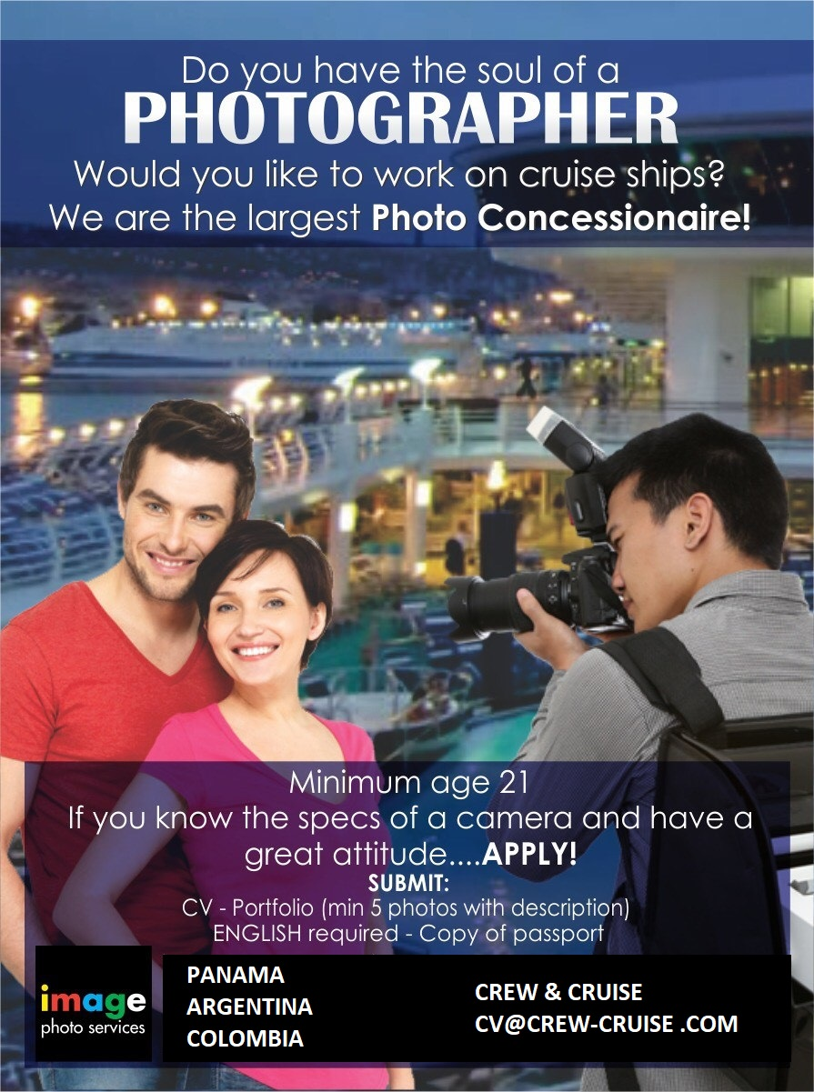 Crew Cruise Photographers