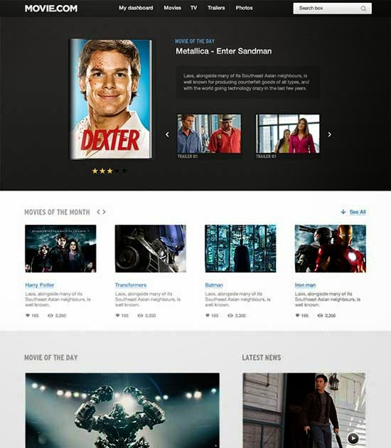 Create a Website using UI Packs (PSD to HTML) – Day 1