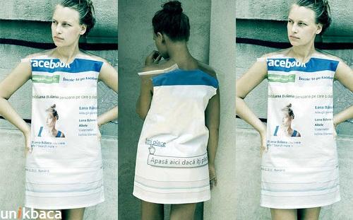 Baju Facebook Unik Buatan Desainer Dari Rumania