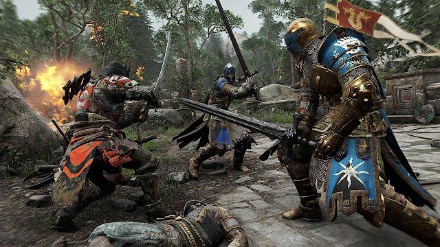 Ubisoft dengan berbaik hati menggratiskan game For Honor dengan batasan waktu tertentu.
