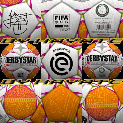 PES 6 Balls Derbystar Johnny's 11 Eredivisie 2018/2019 by Hayate