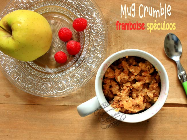 Mug Crumble Pomme Framboise Et Speculoos Il