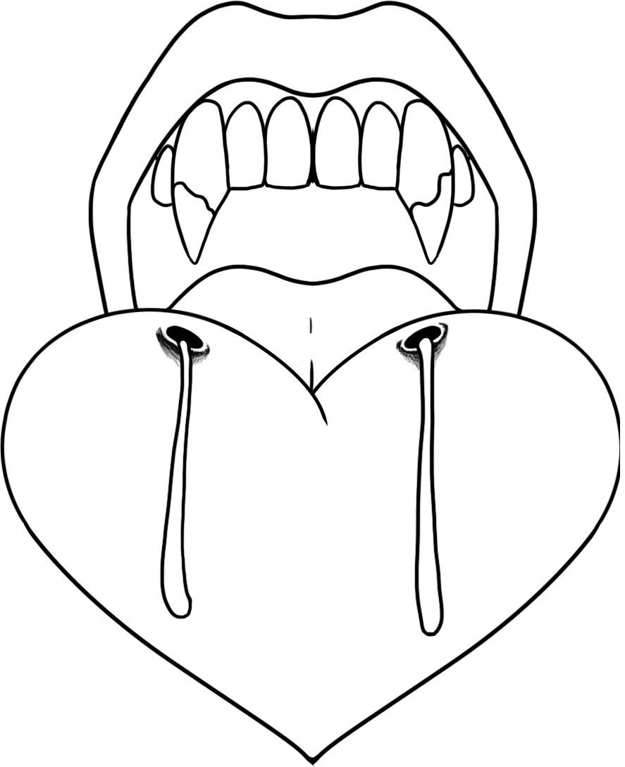free vampire coloring pages to print