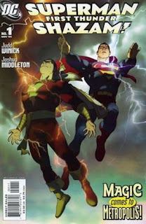 This Was Further Enhanced By The Release Of Superman Shazam Return Black Adam Animated Feature In 2010 A Revamped Origin Captain Marvel