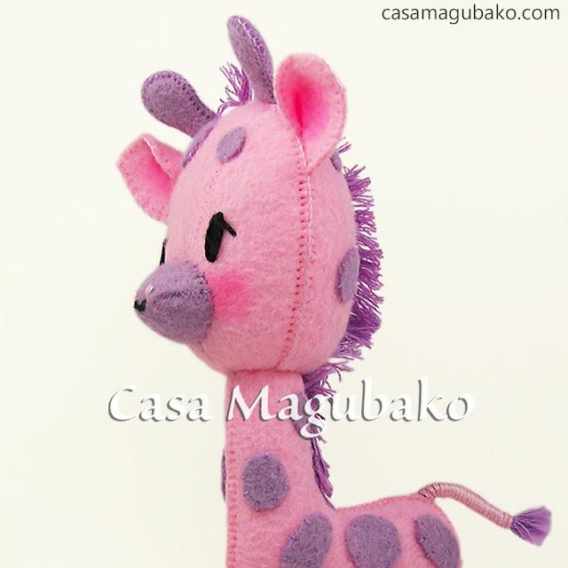 Giraffe Pattern by casamagubako.com