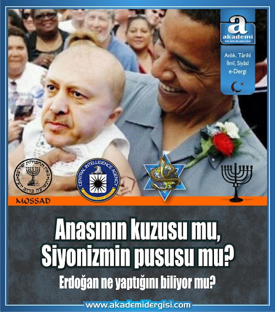 recep tayyip erdoğan anasının kusuzu mu siyonizmin pususu mu