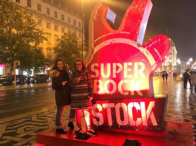 As miúdas foram ao Festival Super Bock em Stock