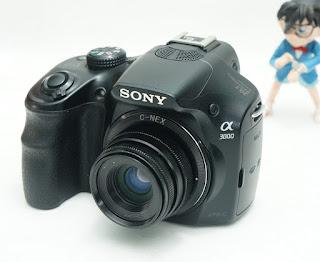 Mirrorless Sony A3000 Bekas