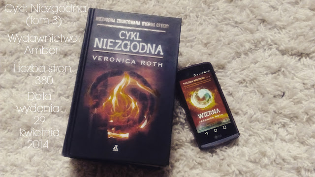 """Wierna"" Veronica Roth"
