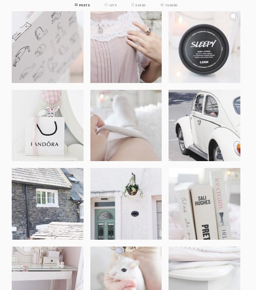 How to make a blog instagram with a theme aesthetic, how to build an aesthetical blog