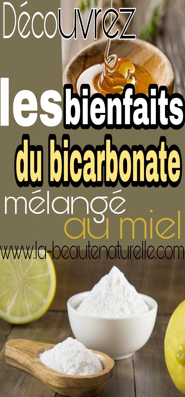 Découvrez les bienfaits du bicarbonate mélangé au miel