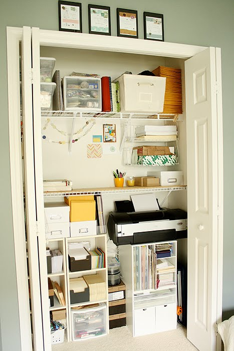 office supply organizer ideas for your weekend amp closet makeover ashlee proffitt 23963