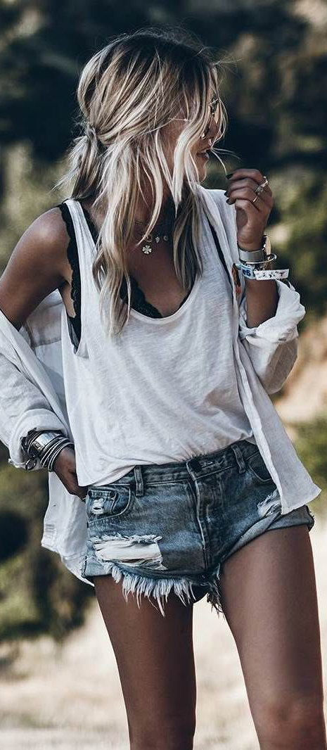 Summer Style 2018 #Summer #Outfits