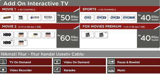 Indihome : UseeTV, Cara Daftar & Harga Paket Indihome