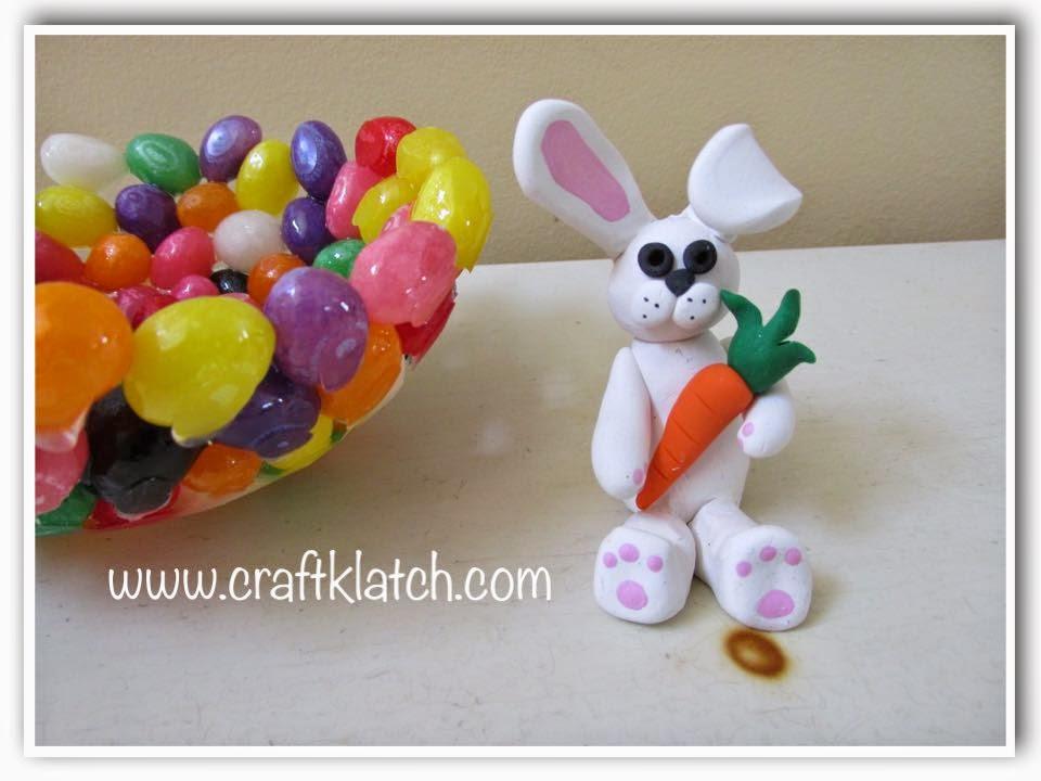Craft Klatch Polymer Clay Bunny Diy