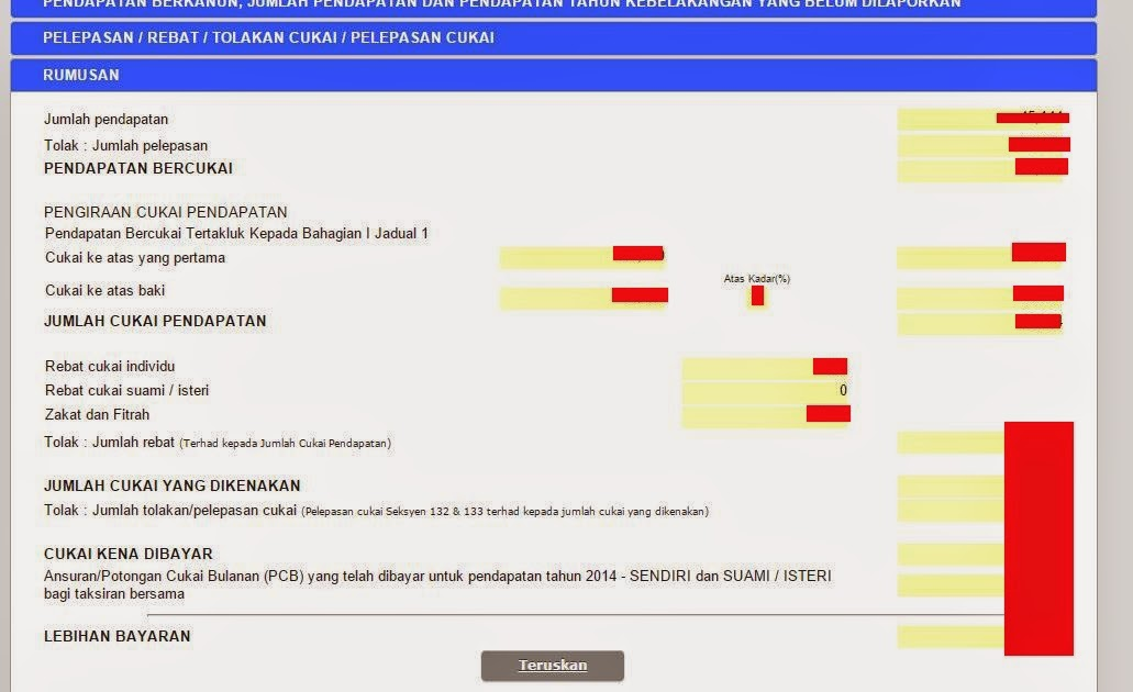Lhdn E Filing Borang Be 2014 | hairstylegalleries.com