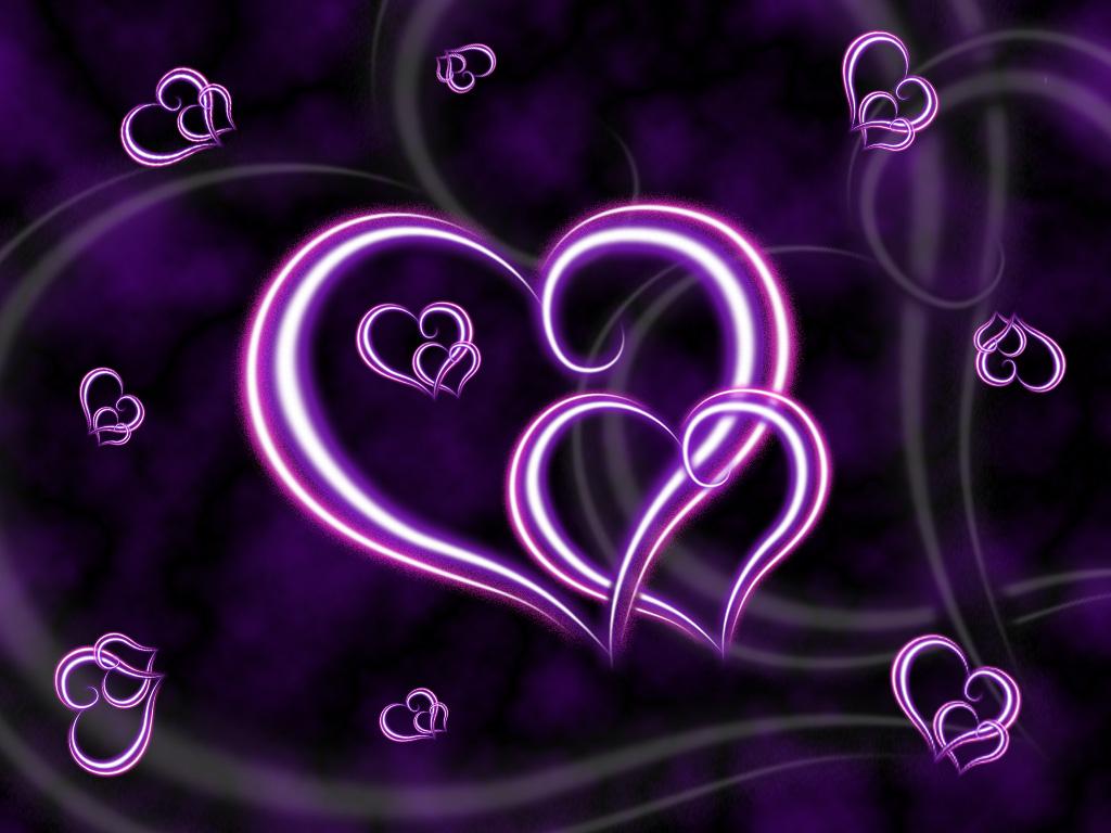 Beautiful Purple Heart Wallpaper Purple Heart Wallpaper HD
