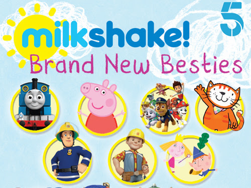 Giveaway - Milkshake! Brand New Besties DVD