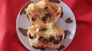muffins naranja fruta escarchada confitada chocolate magdalenas navidad navideño sencillos ricos horno receta cuca