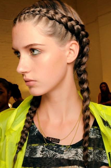 peinados con trenzas para señoritas