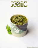 Pesto with almonds recipe