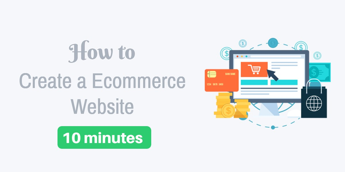 how to Create an E-commerce website