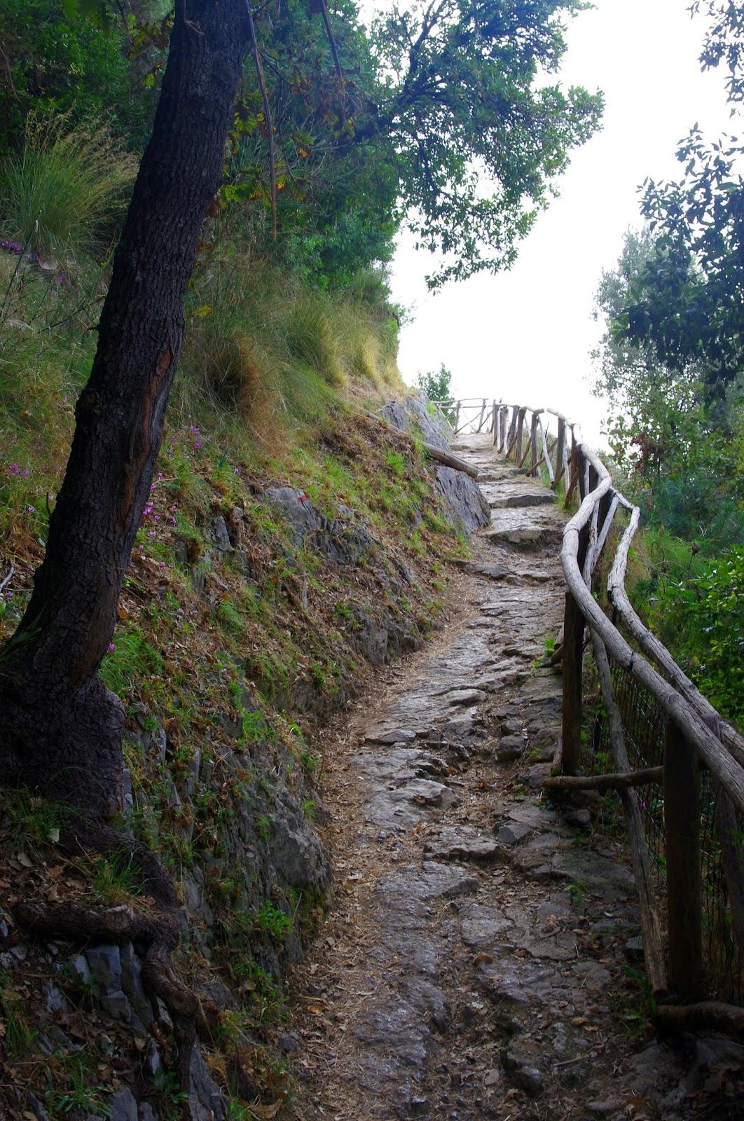 Hiking The Path Of The Gods On Italy S Beautiful Amalfi